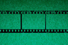 35mm background with green chroma 2 Royalty Free Stock Photos