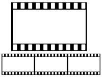35mm Film Stock Photo