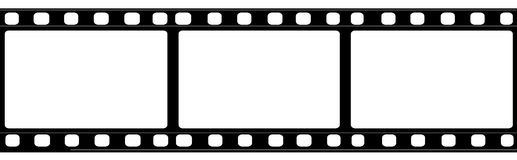 35mm film Stock Image