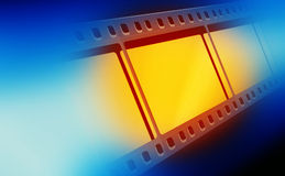 35mm Film. Strip,2D art Stock Images