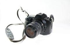 35mm Film Camera. Back in 1985 Stock Image