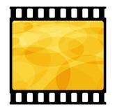 35mm film frame Stock Image