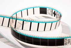 35mm film projection Stock Photo