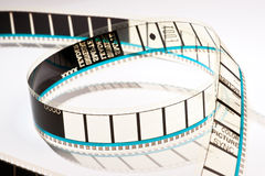 35mm film projection Stock Image