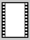 35mm film strip. Illustration of blank 35mm film strip with copy space Stock Photography