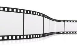 35mm film strip stock image