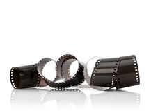 35mm film strip  Royalty Free Stock Images