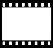 35mm Film Strip frame Stock Photography