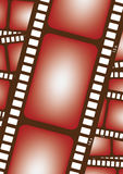 35mm film in vector. A collage of 35mm films in vector Stock Images