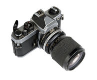 35mm filmcamera Stock Afbeelding
