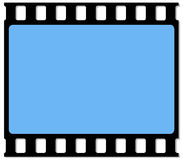 35mm filmframe Stock Fotografie