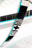 35mm filmprojectie Royalty-vrije Stock Foto's