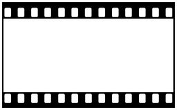 35mm filmspatie voor breed beeld royalty-vrije illustratie