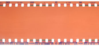 35mm filmstrip 库存图片