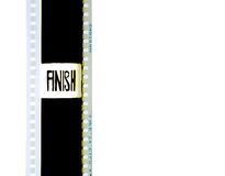 35mm Filmstrip 2 Stock Foto