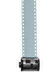 35mm Filmstrip para a fotografia Fotos de Stock Royalty Free