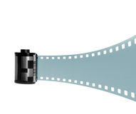 35mm Filmstrip for Photography Royalty Free Stock Images