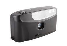 35mm fotografici tenuti in mano filmano la macchina fotografica Fotografie Stock Libere da Diritti