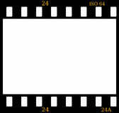 35mm koloru ekranowej ramy obruszenie Fotografia Stock
