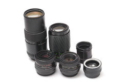 35mm lens Royalty Free Stock Photos