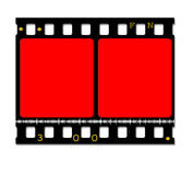 35mm movie Film Royalty Free Stock Photography