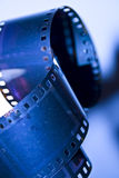 35mm negativer Film Stockbilder