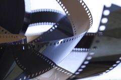 35mm nicht ausgesetzter Film Lizenzfreies Stockbild