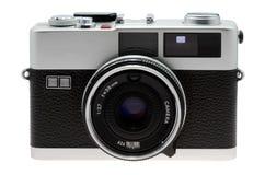 35mm photo camera isolated Stock Image