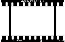 35mm photographic film strip Royalty Free Stock Photo