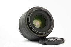 35mm prime dslr lens isolated Stock Images