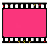 35mm slide frame. 2D digital art Stock Photography