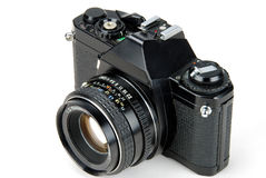 35mm SLR Camera Royalty Free Stock Photo