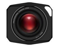 35mmlens. Vector: digital camera lens, 35mm Royalty Free Stock Image