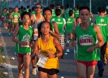 35th milo philippines марафона 2011 Стоковое Изображение