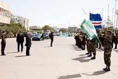 35th verde независимости плащи-накидк годовщины Стоковое Изображение RF