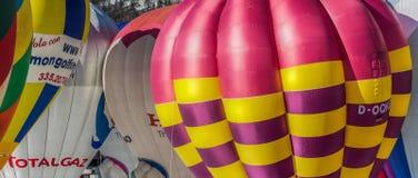 35to festival del globo del aire caliente 2013, Suiza Foto de archivo
