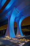 35W桥梁在米尼亚波尼斯明尼苏达 免版税库存照片