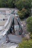 35w bridżowy pokład collapse1 zdjęcia stock
