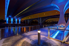 35W Bridge in Minneapolis Minnesota Royalty Free Stock Photography