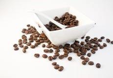 36粒豆咖啡 免版税库存图片