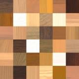 36 различных деревянных образцов иллюстрация штока