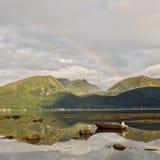 36 северная Норвегия Стоковое фото RF