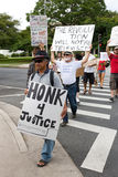 36 anty apec Honolulu zajmuje protest Fotografia Stock