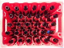 36 Bottles Royalty Free Stock Photo