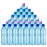 36 flessen Stock Fotografie