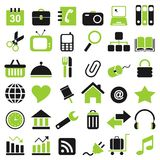 36 icon Royalty Free Stock Photos