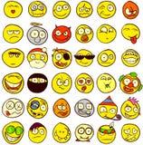 36 Smiley Στοκ Εικόνες