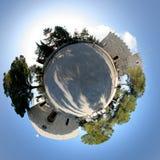 360坎恩帕贝索教会 库存图片