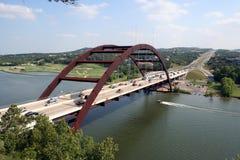 360奥斯汀桥梁 库存照片