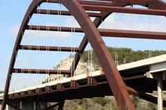 360奥斯汀桥梁 免版税图库摄影